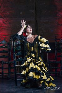 Artistas Tablao Flamenco Puro Arte. Sara Salado. 2