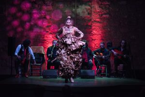 Cuadro Puro Arte I Festival Tablao feb 2017. Beatriz Morales. Baile