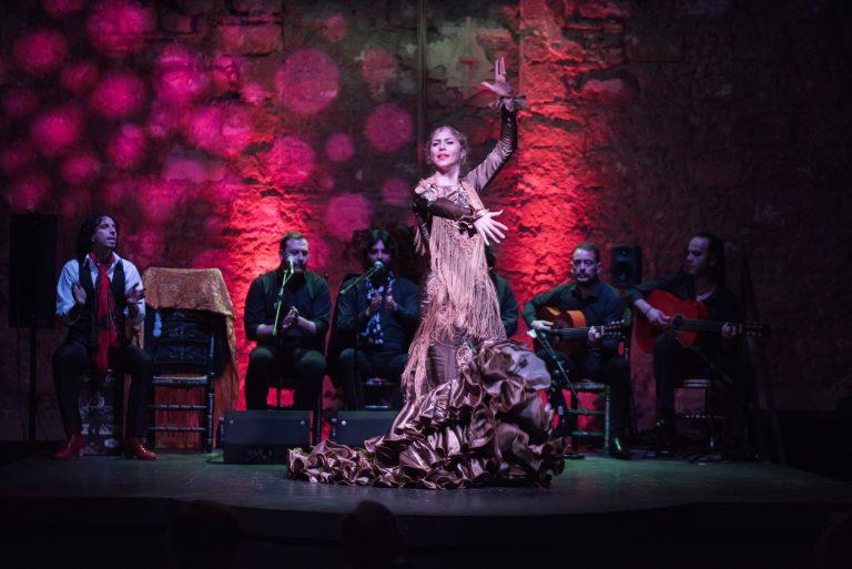 Cuadro Puro Arte I Festival Tablao feb 2017. Beatriz Morales. Baile.