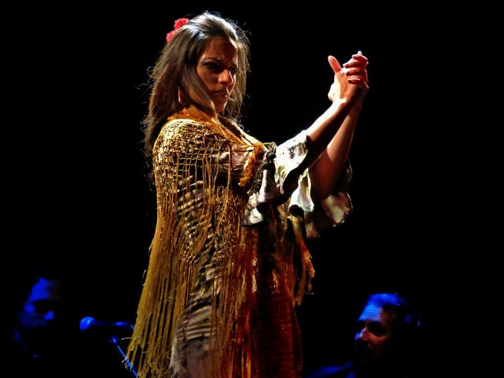 La bailaora Patricia Domínguez