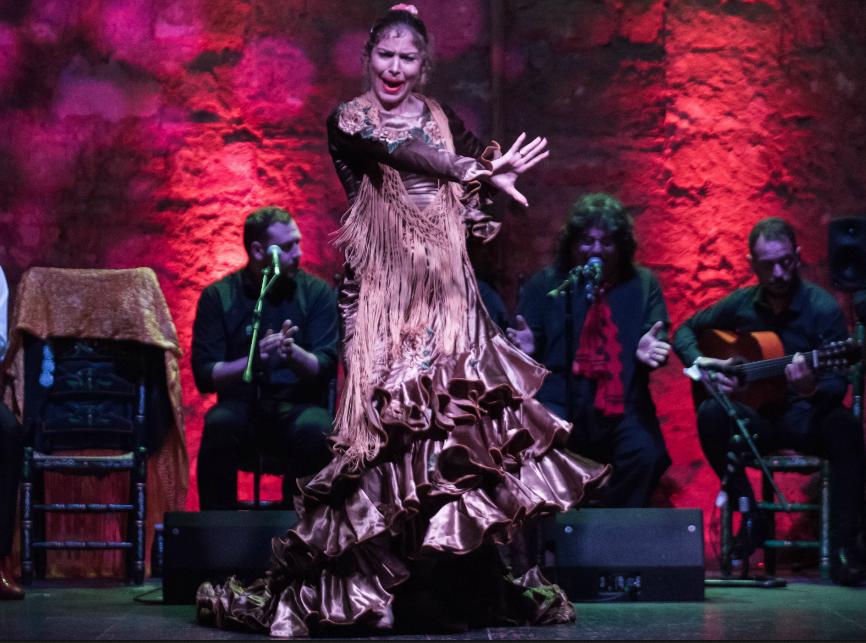 Cartel de la actuación de Beatriz< Morales en el II Festival Flamenco Puero Arte Jerez