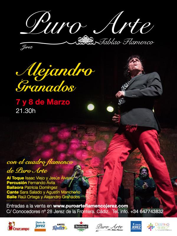 Alejandro Granados, en Puro Arte