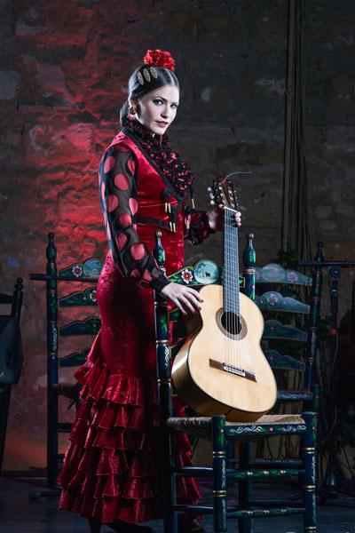 Artistas Tablao Flamenco Puro Arte. Salomé Ramírez