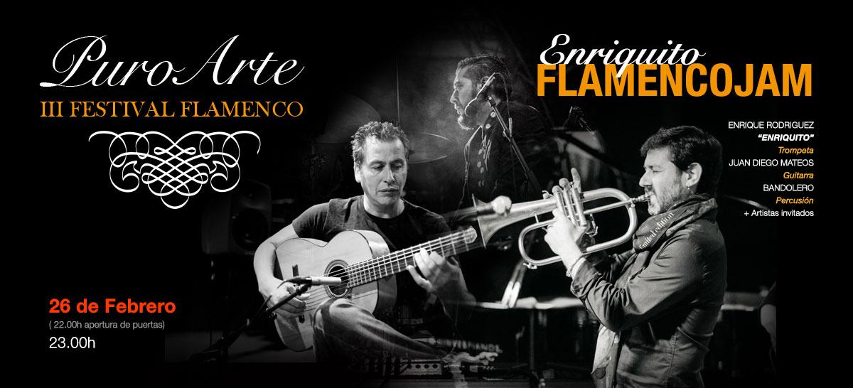 Enriquito 26 de febrero 2019 Tablao Flamenco Puro Arte