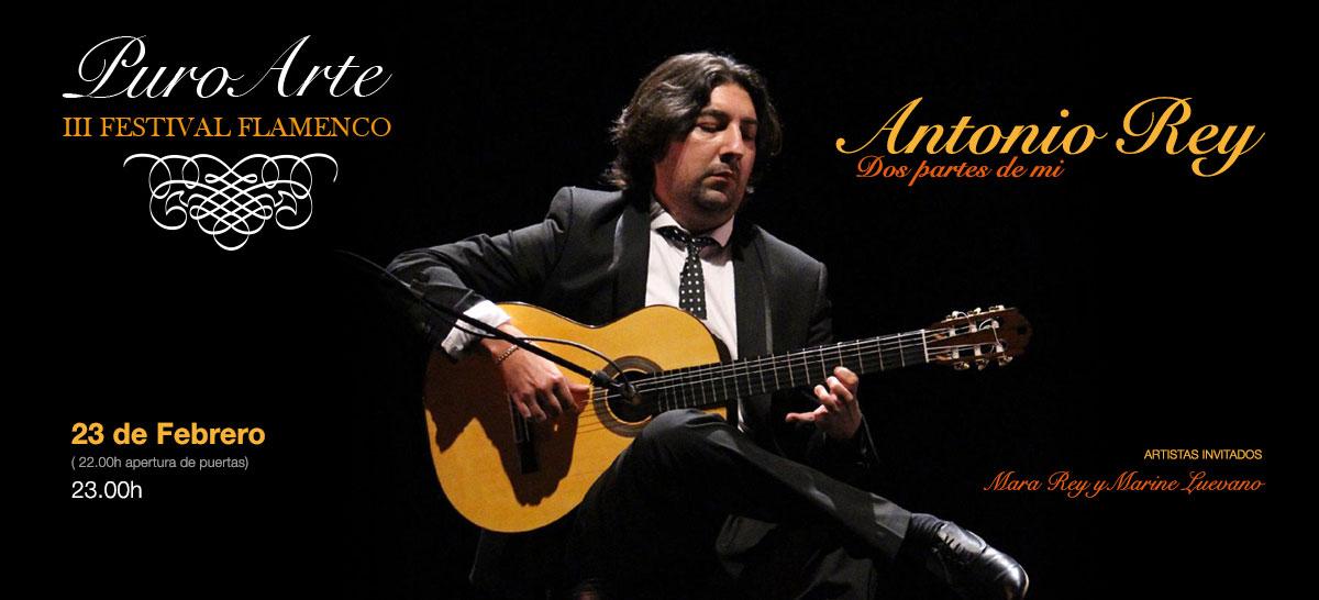 Antonio Rey 23 de febrero 2019 Tablao Flamenco Puro Arte