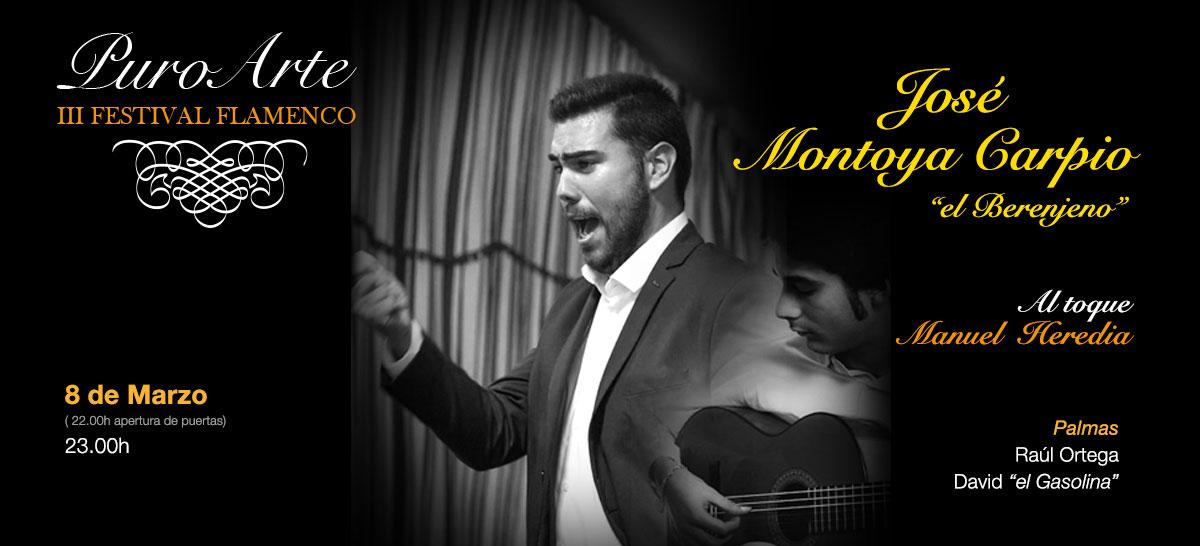 El Berenjeno y Manuel Heredia 8 marzo 2019 Tablao Flamenco Puro Arte