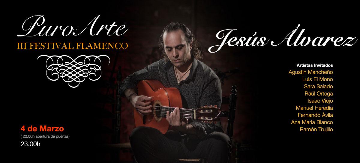 Jesus Alvarez 4 marzo 2019 Tablao Flamenco Puro Arte