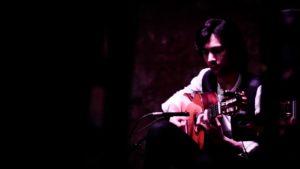 Manuel Heredia, durante un momento de su actuación en Puro Arte durante el II Festival Flamenco Puro Arte Jerez.