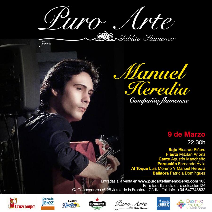 Manuel Heredia debuta en Puro Arte